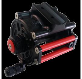 Moulinet LG Sub Twist Vertical XX-Light 60mm pour Omer