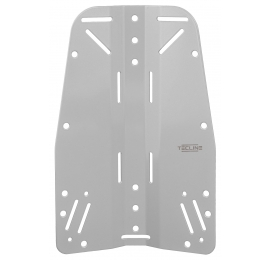 Plaque dorsale Tecline Inox 3mm