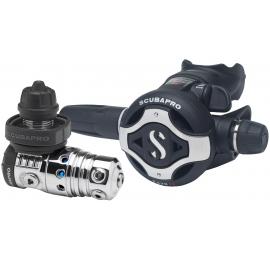 Pack détendeur prêt à plonger Scubapro MK25 EVO S600 R195 + mano + sac