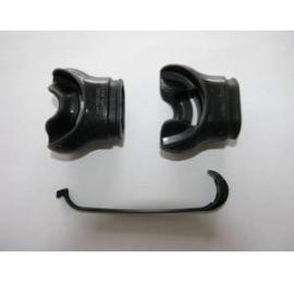2 Embouts Aqua lung confobite + collier réutilisable