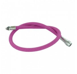 Flexible Miflex rose 74 cm tressé