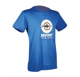 Tee-Shirt Beuchat Free Diving Gris