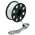 Spool PVC 35 mousqueton inox