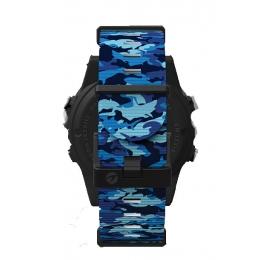 Bracelet Shearwater Bleu camo en nylon pour Teric