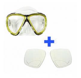 Masque AQUATYS Papeete avec verres correcteurs