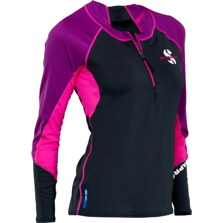 Rash Guard ML Femme Carrib ou Jewel Scubapro 2020