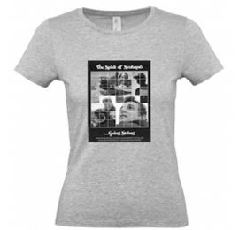T-shirt Scubapro gris retro