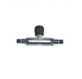 Barre de couplage Scubapro avec robinet d'isolation 8 l/10 l/12 l long