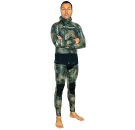 Combinaison Picasso Thermal Skin 7mm Camo Green