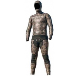 Combinaison Picasso Thermal Skin 3mm Camo Brown