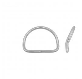 D-ring courbé inox Tecline