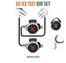 Détendeur Tecline DIR Set V2 Ice Tec1