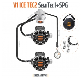 Pack Détendeur Tecline V1 ice Tec2 semi-tec