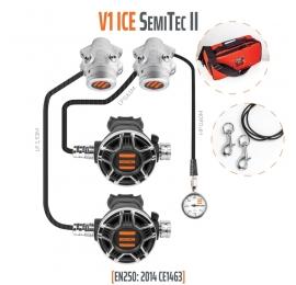 Pack double détendeur Tecline V1 ice Tec2 semi-tec