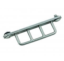 D-ring triple Tecline pour Sidemount (queue de castor)