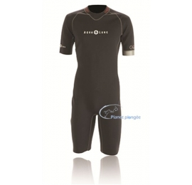 Shorty sous-vêtement TITANIUM 1mm Zip arrière Unisex Aqua Lung