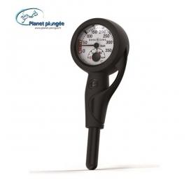 Manomètre Aqualung métal Al 300b + Thermomètre