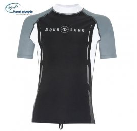 Top Rashguards manches courtes sans zip aqua lung