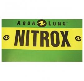 Autocollant AquaLung pour bloc Nitrox