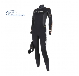 Combinaison Aqualung Dive 5,5 mm Femme Destockage XS et S