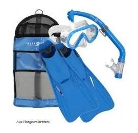 Set Palmes Masque Tuba Aqua Lung Sport