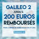 Reprise Galileo LUNA/SOL vers nouveau G2 - Nous vous remboursons jusqu'à 200 euros pour l'achat de votre nouveau G2