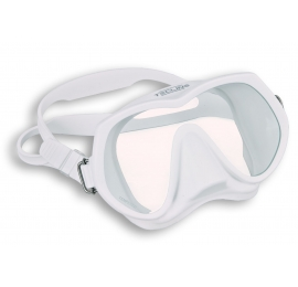 Masque Frameless super view blanc Tecline