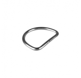 D Ring Plat pour sangle 50 mm