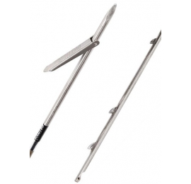 Flèche à ergots Pathos Ø 7mm mono-ardillon