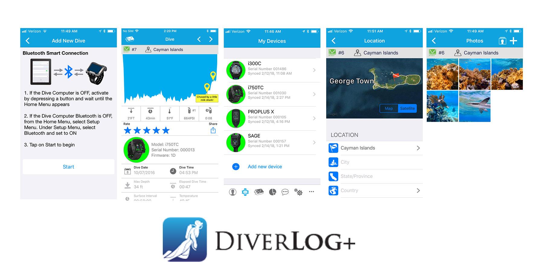 Diverlog pour télécharger ses plongées