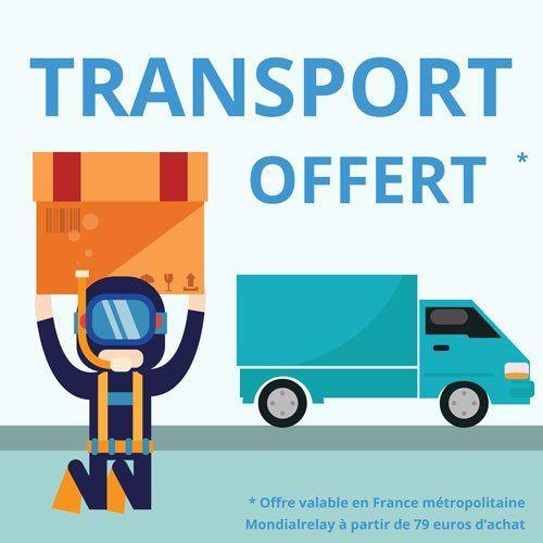 transport offert à partir de 79 euros