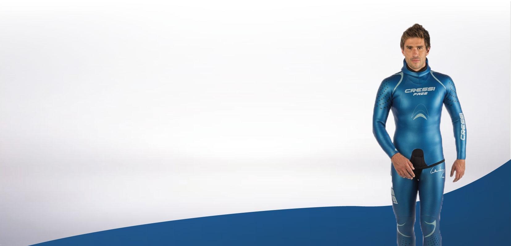 Cressi sub l'ensemble des produits de plongée de la marque italienne maintenant disponible